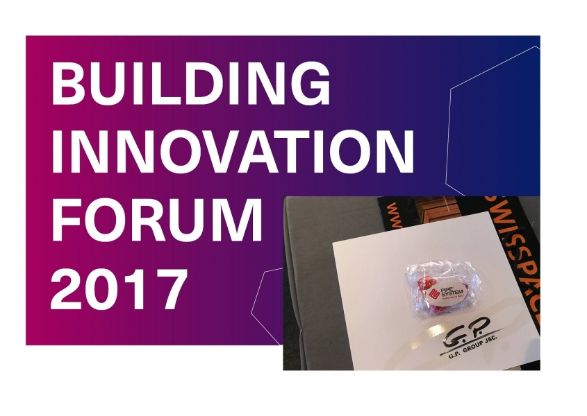 BUILDING INNOVATION FORUM 2017